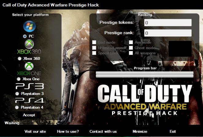 cod aw hack